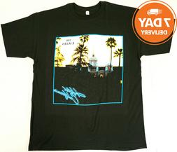 1EAGLES T-shirt Hotel California Classic Rock Band T-shirt C