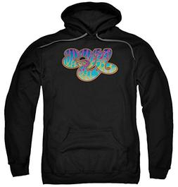 A&E Designs Yes Logo Hoodie, Black, Large
