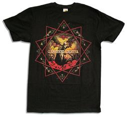 "Adult Avenged Sevenfold ""Decagram"" Black Slim Fit T-Shirt"