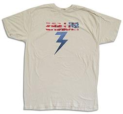"""Adult The Killers """"American Bolt"""" Ivory Slim Fit T-Shirt"""