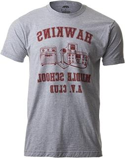 Ann Arbor T-shirt Co. Hawkins Middle School A.V. Club | Vint