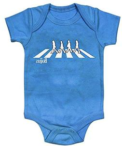 The Beatles Beatles Unisex Baby Abbey Road Silhouette One Pi