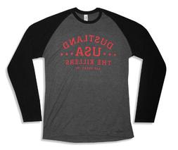 "Bravado Adult The Killers ""Dustland"" Grey Long Sleeve Raglan"