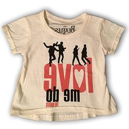 Bravado  Beatles 'Love Me Do' Baby Girls T-Shirt