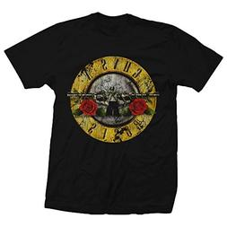 Bravado Guns N Roses Distressed Bullet Lightweight T-Shirt-S