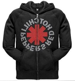 Bravado Red Hot Chili Peppers Zip Hoodie Band T-Shirt Rock n
