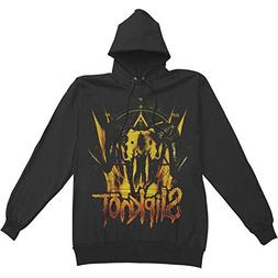Bravado  Slipknot Cattle Skull Pullover Hoodie-large