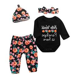 Coper Cute Halloween Outfits, 2018 Toddler Baby Girls Letter