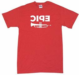 Epic Trumpet Logo Big Boy's Kids Tee Shirt Youth XL-Red