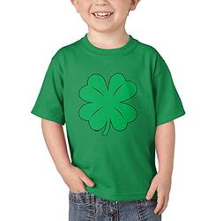 Green Distressed Shamrock - Clover - St. Patrick's Day T-Shi