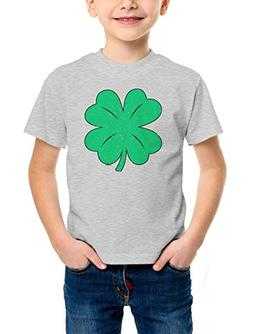 Green Distressed Shamrock - Clover - St. Patrick's Day Youth