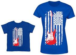 HAASE UNLIMITED Guitar American Flag 2-Pack Toddler & Ladies