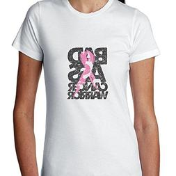 Hollywood Thread Bad Ass Breast Cancer Warrior Pink Support