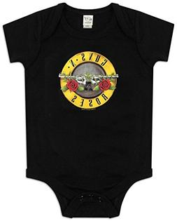 Infant: Guns N Roses - Bullet Logo Bodysuit Infant Onesie Si