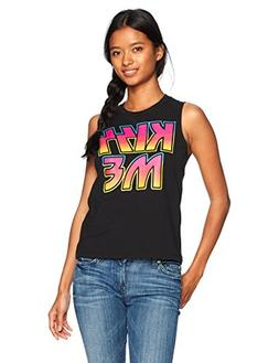 cc8bd644b1 Kiss Junior s Women s Fashion Muscle Tee.