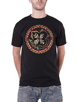 Kiss T Shirt Rock And Roll Over Vintage Band Logo Official M