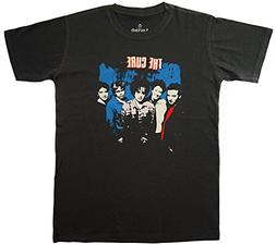 Lectro Men's The Cure Rock Band T-Shirt M Dark Grey