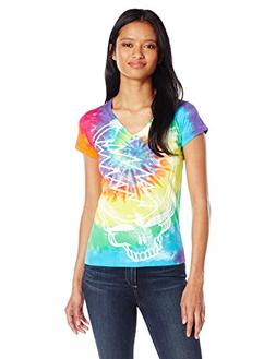 Liquid Blue Women's Grateful Dead Steal Your Face Rainbow Gr