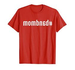 Mens A Hashtag Band Mom TShirt, Band Mom Shirt Women XL Red