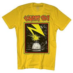 Merch Direct Bad Brains - Capitol On Yellow - T-Shirt - YEL