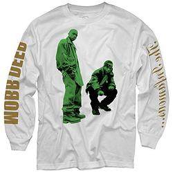 Merch Direct Mobb Deep - Never Shook - Long Sleeve Shirt - W