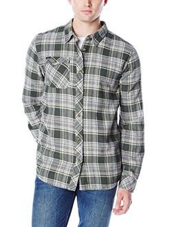 O'Neill Men's Basin Shirt, Army, Small