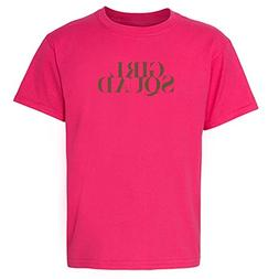 Pop Threads Girl Squad Pink M Youth Short Sleeve T-Shirt