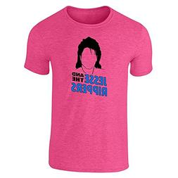 Pop Threads Jesse And The Rippers Band Heather Pink 2XL Shor