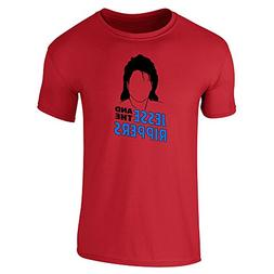 Pop Threads Jesse and The Rippers Band Red 3XL Short Sleeve
