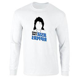 Pop Threads Jesse and The Rippers Band White XL Long Sleeve