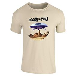 Pop Threads Lost in Space Jupiter 2 Sand L Short Sleeve T-Sh