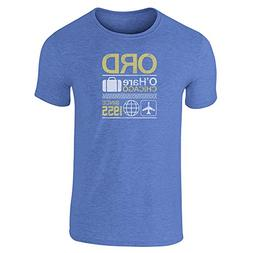 Pop Threads ORD O'Hare Chicago Airport Code Travel Heather R