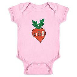 Pop Threads The Beets Band Logo Pink 24M Infant Bodysuit