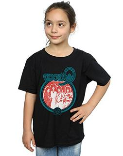 Queen Girls Vintage Band Photo T-Shirt Black 7-8 Years