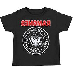 Ramones Baby Boys' Childrens T-shirt 6 - 12 Months Black