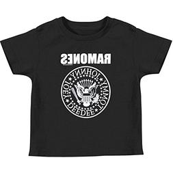Ramones Presidential Seal Punk Rock Band Toddlers T-Shirt,Bl