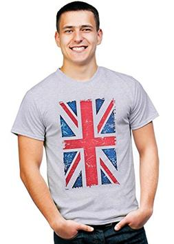 Retreez Vintage Union Jack UK Britain British Flag Graphic P