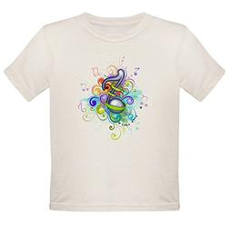 Royal Lion Organic Toddler T-Shirt Musician Music Note Color