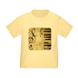Royal Lion Toddler T-Shirt Musician Piano Keys Music Notes -