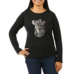 Royal Lion Womens Long Sleeve Dk T-Shirt Koala Bear Mother a