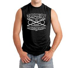 Tcombo Weapons of Mass Precussion Men's Sleeveless Shirt