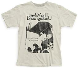 Velvet Underground- White Light/White Heat Apparel T-Shirt L