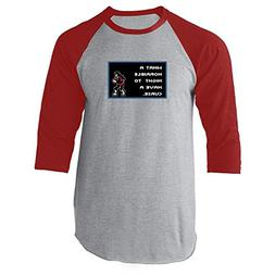 What A Horrible Night to Have a Curse 8 Bit Quote Red 3XL Ra