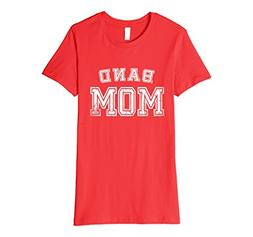 Womens Band Mom High School Marching Band Cute Funny Mother