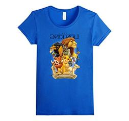 Womens Disney Lion King Pride Land Characters Graphic T-Shir