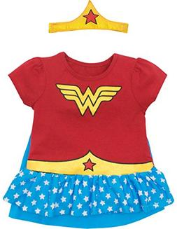 Warner Brothers Wonder Woman Toddler Girls' Costume Ruffle S