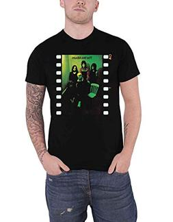 YES T Shirt The Album Band Logo Official Mens Black