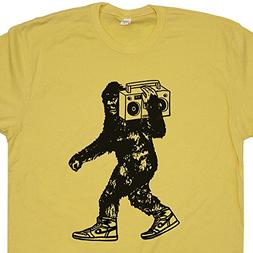 Youth S - Stereo Bigfoot T Shirt Beastie Sasquatch Shirts Ca