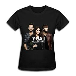 ZYX American Country Music Band Lady Antebellum T Shirt For