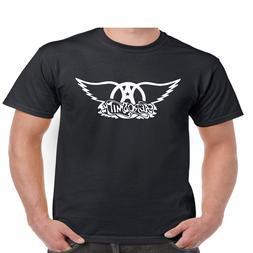 Aerosmith Wings T Shirt Classic Rock Band